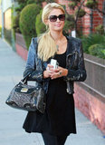 Paris Hilton needs two smartphones to keep her organized.