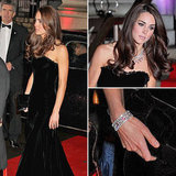 See Kate Middleton's gorgeous velvet Alexander McQueen gown from every angle!