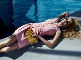 This Hugo Boss Spring '12 ad reminds us of an Old Hollywood poolside scene. Source: Fashion Gone Rogue