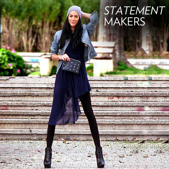 The street style brigade has spoken: standout statement add-ons are the key to a dynamic outfit.