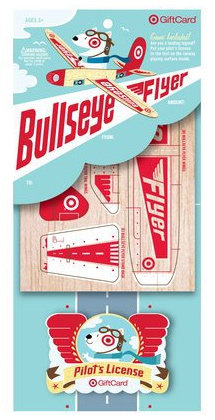 Bullseye Flyer Gift Card
