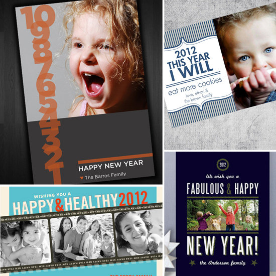 Didn't Quite Get the Holiday Cards Ordered? There's Always New Year's Cards!