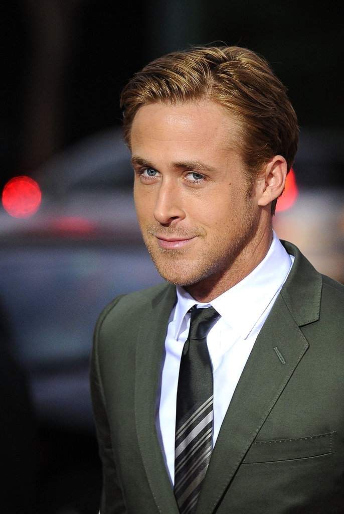 Ryan looks dreamy at the premiere of The Ides of March.