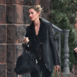 Gisele Bundchen Pictures in Boston For Christmas