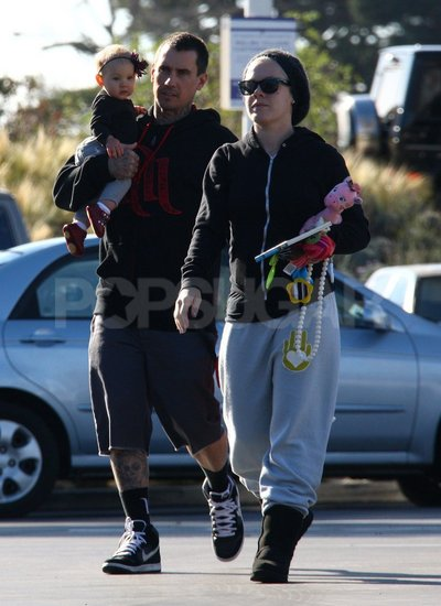 Pink and Carey Celebrate Baby Willow's First Christmas in Malibu