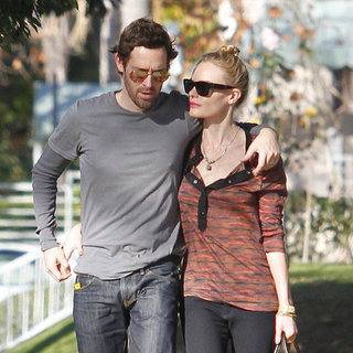 Kate Bosworth and Michael Polish Hugging Pictures