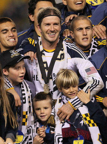 38. Beckham Wins the MLS Cup
