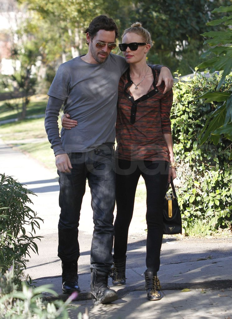 Kate Bosworth and Michael Polish Go Arm in Arm For a Lunch Date