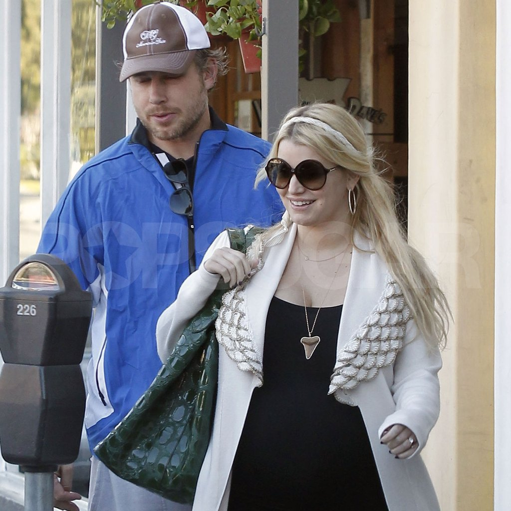 Jessica Simpson and Eric Johnson were a happy couple in LA.