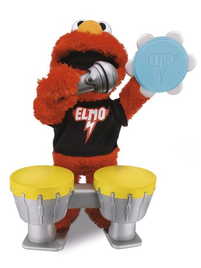 Favorite New Baby Toy: Let&#039;s Rock Elmo