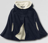 Lands' End Fleece Cape ($24.99)