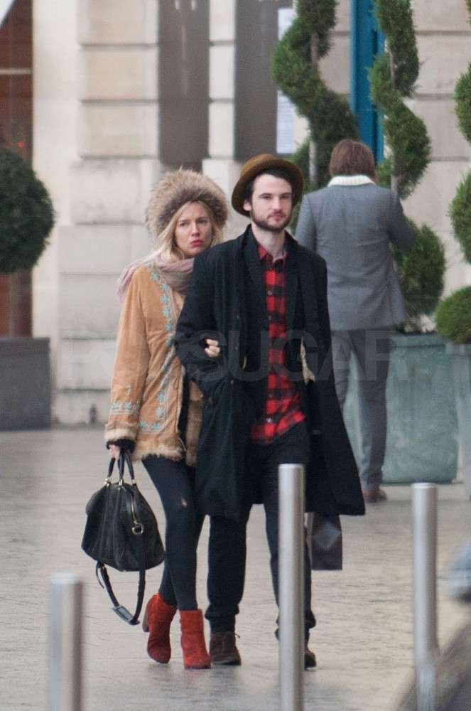 Tom Sturridge led the way for Sienna Miller.
