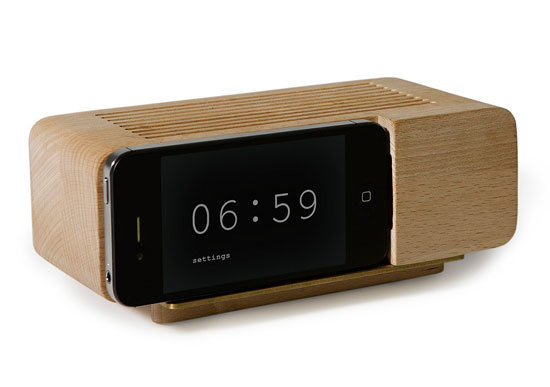 iPhone Alarm Dock ($40)