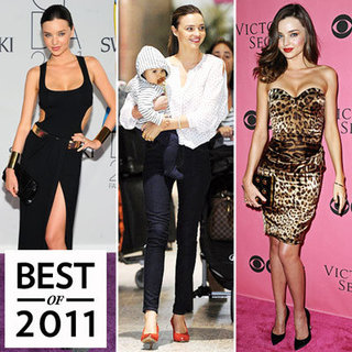 Miranda Kerr Best Celebrity Mom Style 2011