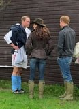Kate Middleton and Prince Harry Wear Matching Wellies to Watch Will Play