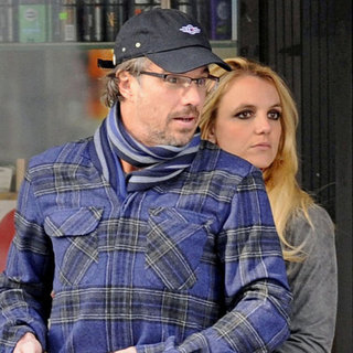 Engaged Britney Spears and Jason Trawick in NYC Pictures