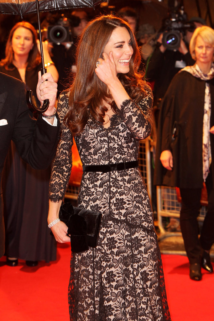 Kate was all smiles at the War Horse premiere.