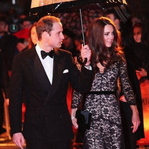 Prince William and Kate Middleton Red Carpet Pictures at War Horse London Premiere