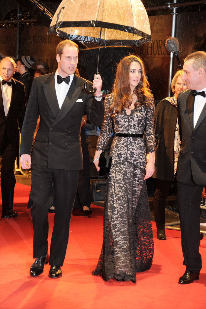 Will and Kate attended the premiere of War Horse.
