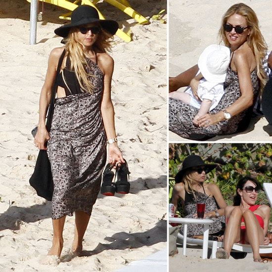 Rachel Zoe Hosts a High Fashion Meeting of the Minds on the St. Barts Beach