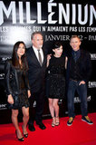 Daniel Craig and Rooney Mara premiere The Girl With the Dragon Tattoo in Paris.