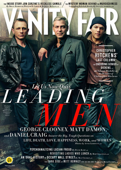 Matt Damon, George Clooney, and Daniel Craig Pose For One Hot Vanity Fair Cover
