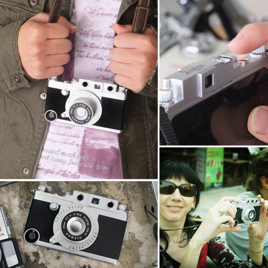 iPhone Case That Looks Like a Camera