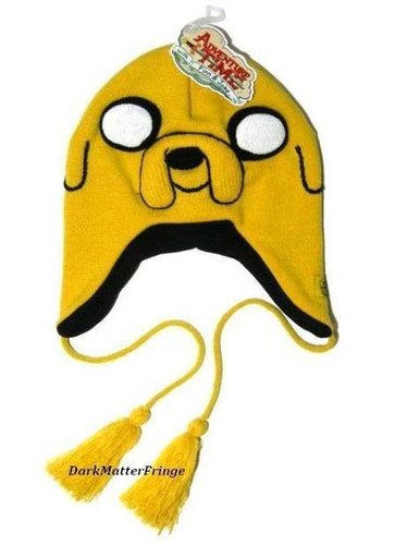 Cartoon Network Adventure Time w/Finn & Jake Laplander Ski Winter Beanie Hat Cap | eBay