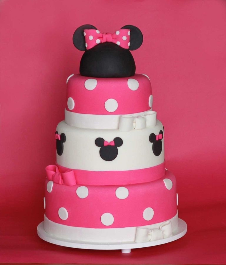 mini mouse birthday cakes