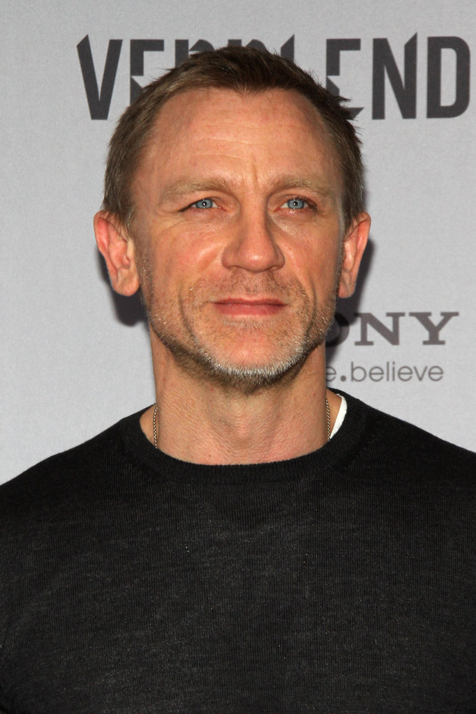 Daniel Craig displayed his icy blue eyes in Berlin.
