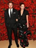 Drew Barrymore and Will Kopelman were the picture of happiness arriving at NYC's Museum of Modern Art Fourth Annual Film Benefit in November 2011.