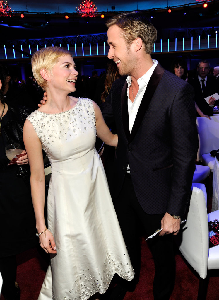 Ryan Gosling and Michelle Williams shared a sweet moment in 2011.