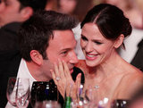 Jennifer Garner and Ben Affleck looked adorable and loved up during the 2011 show.
