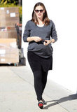 Jennifer Garner ran errands in LA.