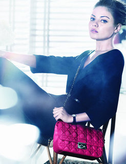 Mila Kunis Shows Off Her Ladylike Style For Dior in New Ad Campaign
