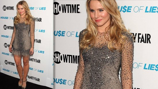Get Kristen Bell's Gorgeous Beaded Dress From the Showtime Premiere!