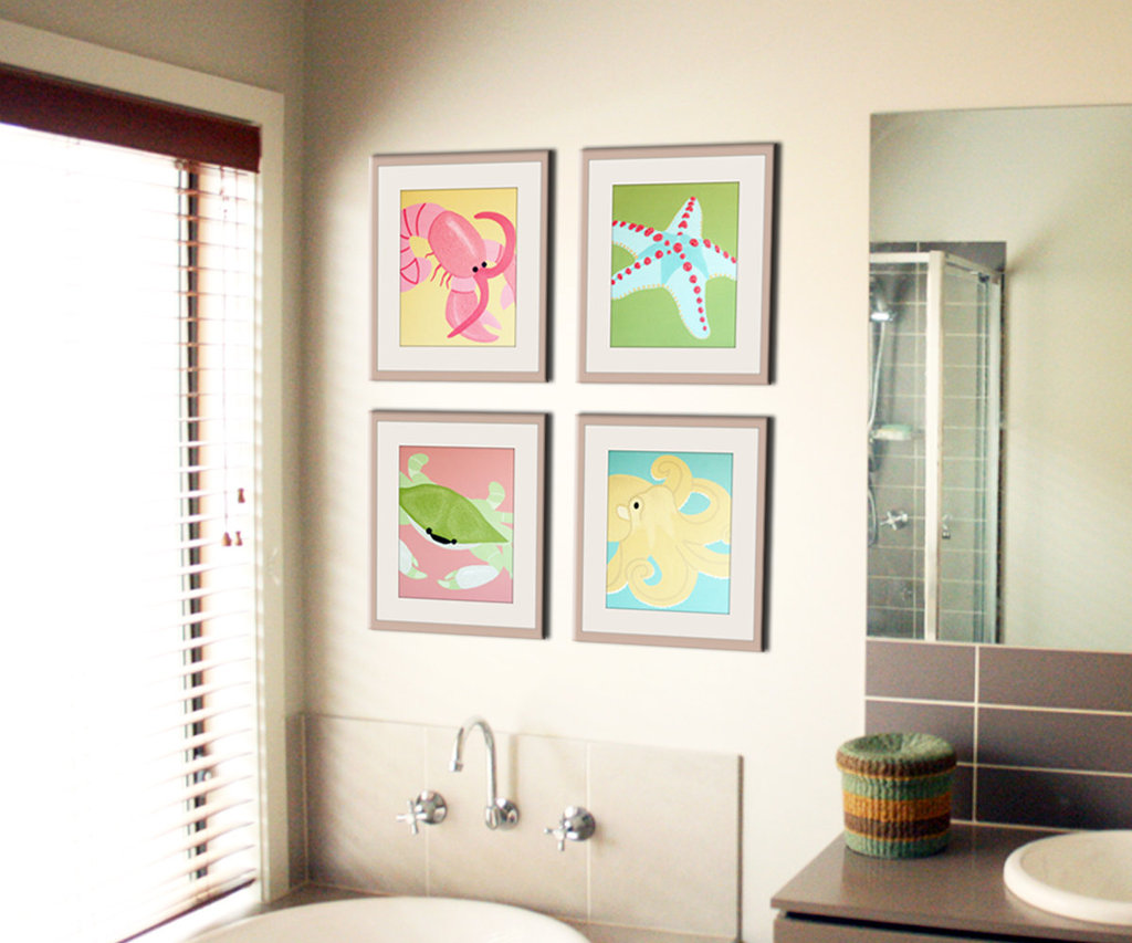 Bathroom Art For Kids