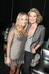 Kristen Bell and Ali Larter at AT&T Center