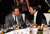 Matt Damon and Ben Affleck shared a bromantic moment in 2011.