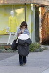 Olivia Wilde at Andy Lecopmpte Salon