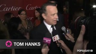 Tom Hanks at the Palm Springs Film Festival
