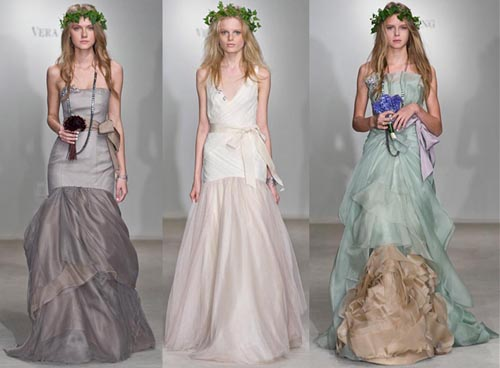 In 2011 Spring Vera Wang will create a bridal collection for David 39s Bridal