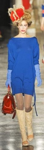 Vivienne Westwood Red Label London Fashion Week fashion show catwalk report fall 2011