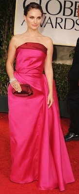 Designer of Natalie Portman's Pink Dress at Golden Globes