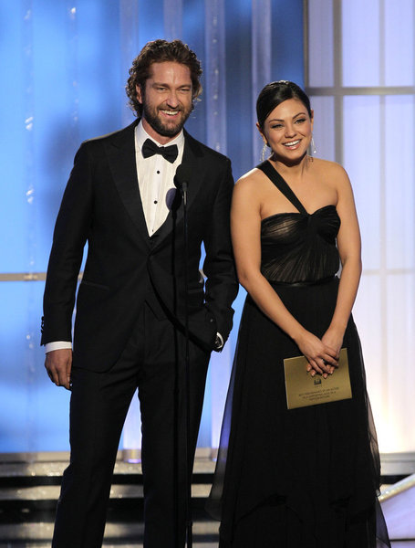 Gerard Butler and Mila Kunis