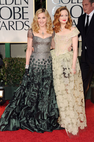 Madonna and Andrea Riseborough