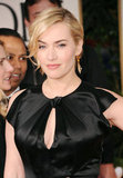 Kate Winslet in a cutout dress.