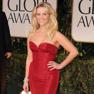 Reese Witherspoon Pictures at Golden Globes 2012