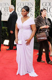 Octavia Spencer at the Golden Globes.