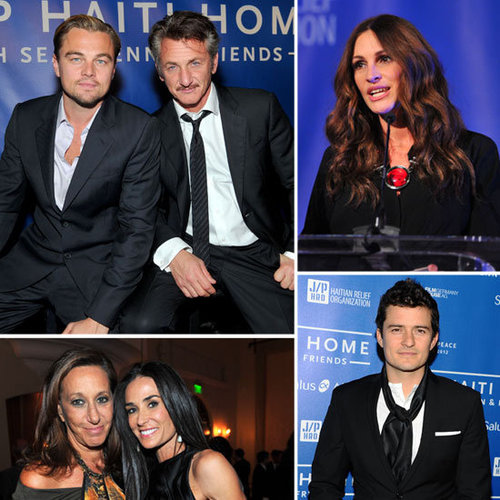 Leonardo DiCaprio, Julia Roberts, Orlando Bloom, Kim Kardashian Pictures at Cinema For Peace Event